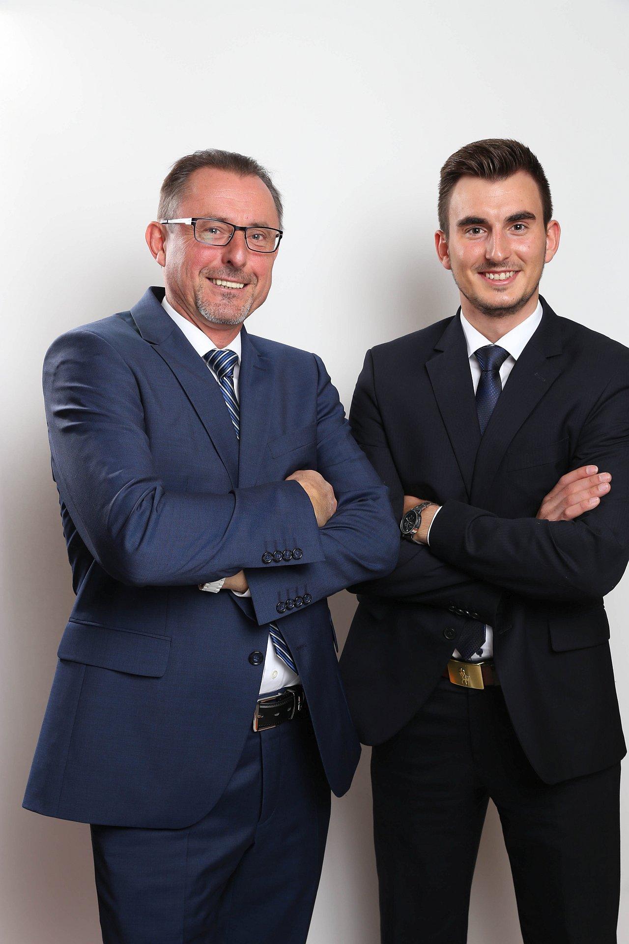 Vater und Sohn Jendryschik | AFS Versicherungsvermittlungs GmbH
